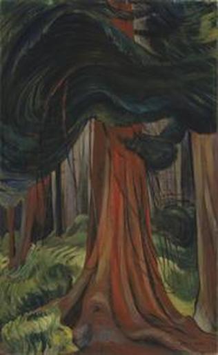 Red Cedar, by Emily Carr